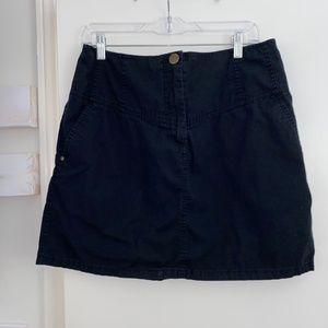 Black Denim H&M Skirt